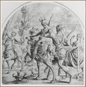 Allegorie: De Hoogmoed (detail)