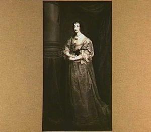 Portret van Henriëtta Maria de Bourbon, koningin van Engeland (1609-1669)
