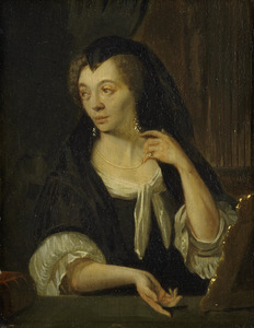 Portret van Anna de Hooghe (1645-1717)