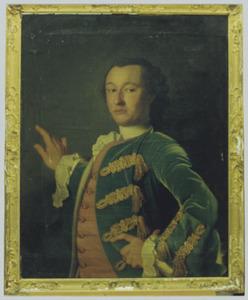 Portret van Carel Alexander van Haersma (1737-1783)