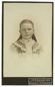 Portret van Bregtje Sikkema (1895-)