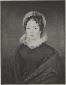 Portret van Louise Sophie Blussé (1801-1896)