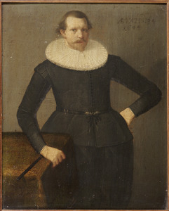 Portret van Isaac Pietersz. Kistemaker