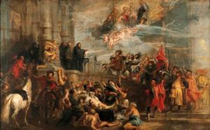De mirakels van de Heilige Benedictus
