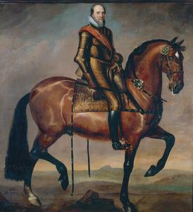 Ruiterportret van Maurits van Oranje-Nassau (1567-1625)