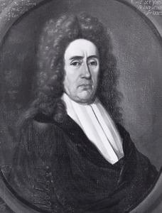 Portret van Bernardus Fullenius (1640-1707)
