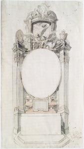 Ontwerp voor een altaar van het St. Lucas gilde in de kathedraal van Antwerpen
