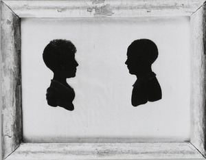 Portret van Arnoldina Wilhelmina Cornelia barones van Pallandt (1801-1860) en Adolf Werner Carel Willem baron van Pallandt (1802-1874)