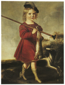 Portret van een 3-jarige jongen