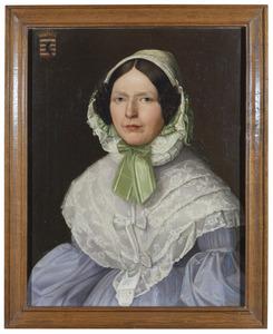 Portret van Maria Anna Luise Frederieka Johanna Sybille des H.R. Rijksgravin van Hoensbroeck (1774-1846)