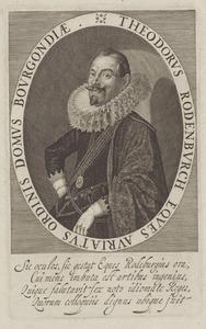 Portret van Theodorus Rodenburgh (ca. 1574-1644)