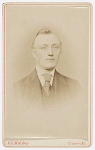 Portret van Jan Minnema van Haersma de With (1825-1904)