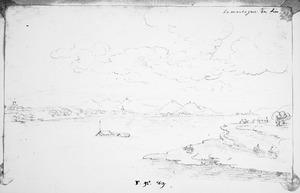 Gezicht over het Rijndal