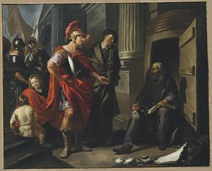 Alexander de Grote bezoekt Diogenes