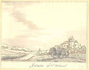 Heuvellandschap met huis Hoemen in Barneveld