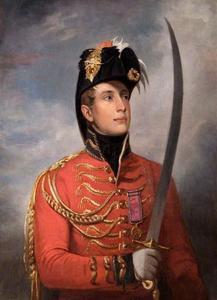 Portret van de latere koning Willem II (1792-1849)