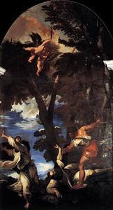 De dood van de Helige Petrus Martelaar
