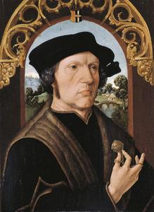 Portret van Jan Gerritsz van Egmond (..-1523)