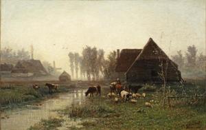 Ochtendstemming bij Veenendaal