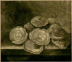 Stilleven van oesters