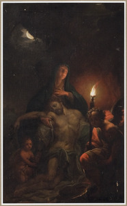 De dode Christus in Maria's schoot