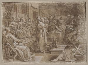 Keizer Heliogabal en de vrouwen in zijn familie die een rol speelden tijdens zijn regering