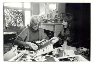 Portret van Eva Besnyö en Dorianne Kransberg