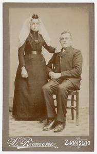 Dubbelportret van Mw. Lena de Vos en Dhr. Leenhouts