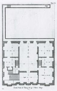 Palazzo Campanella: Plan van de hoofdverdieping