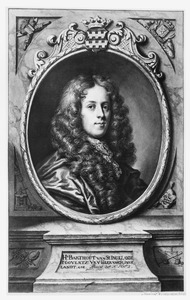 Portret van Barthout van Slingelandt (1654-1711)