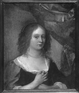 Portret van Wilhelmina van Bronckhorst (1601-1669)