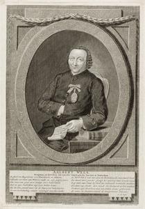 Portret van Aalbert Wels (....-1800)