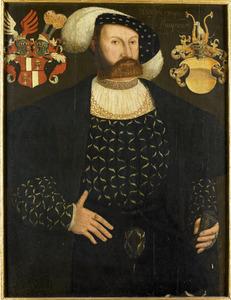 Portret van Rudolf van Bunau (1490-1542)