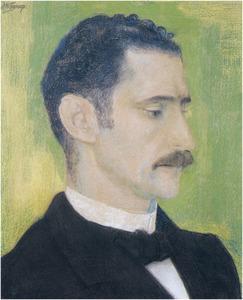 Portret van Adriaan Volker (1827-1903)