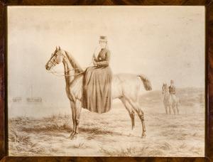 Portret van Cornelia Maria Steengracht (1831-1906)