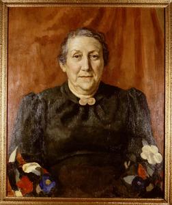 Portret van Maria Elisabeth de Flines (1872- )