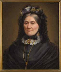 Portret van Josephina Hermina Hubertina van Waegeningh (1826-1911)