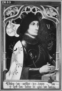 Portret van Willem III van Naaldwijk (ca. 1366-1427)