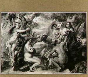 De ontdekking van de zwangerschap van Callisto