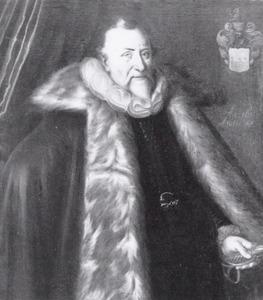Portret van Cornelis van Deuverden (1543-1611)