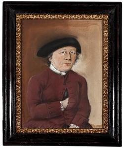 Portret van Johannes Meyjes (1708-1798)