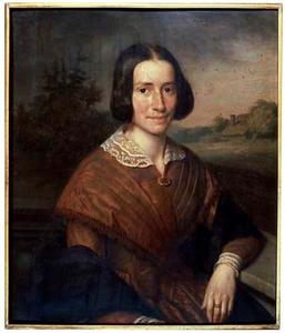 Portret van Elisabeth van Brakel (1815-1848)
