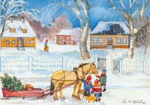 Wintertafreel in Noorwegen