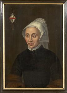 Portret van een vrouw, mogelijk Erckenraedt van Bekesteyn (1490-1548)