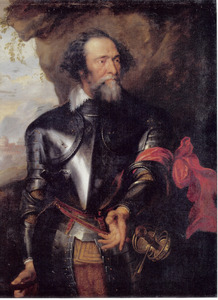 Portret van Hendrick graaf van den Bergh (1573-1638)