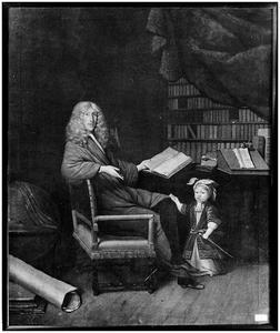 Dubbelportret van Cornelis de Groot (1642-1697) en zijn zoon Allard de Groot (1678-1709)