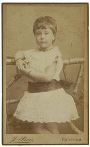 Portret van Albertine Francoise van der Kerkhoff (1886- )