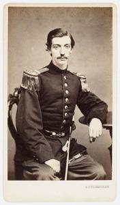 Portret van Georg Frederik Gustaaf Adolph van Kempen (1844-1898)