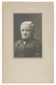 Portret van Johanna Elisabeth Valckenier (1836-1914)