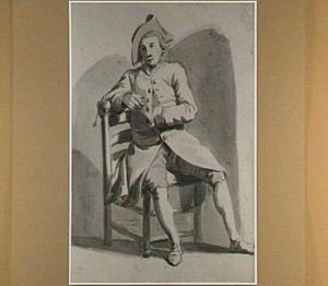 Nicolaes van der Velden, model bij het tekengenootschap Pictura in Dordrecht